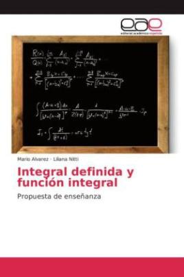 Integral definida y función integral