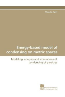 Energy-based model of condensing on metric spaces
