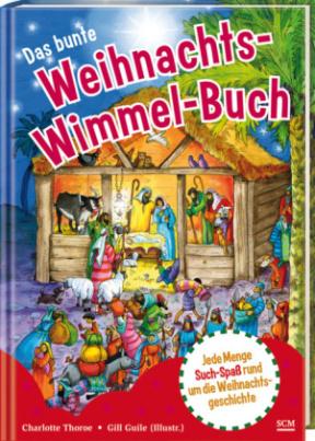 Das bunte Weihnachts-Wimmel-Buch