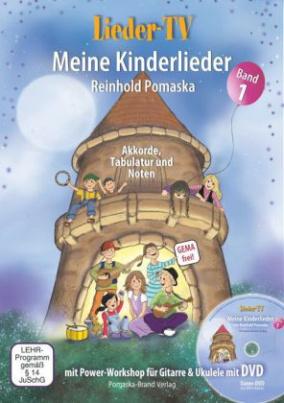 Lieder-TV: Meine Kinderlieder, m. DVD. Bd.1