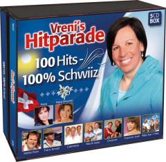 Vreni´s Hitparade - 100 Hits - 100 % Schwiiz (5 CDs)