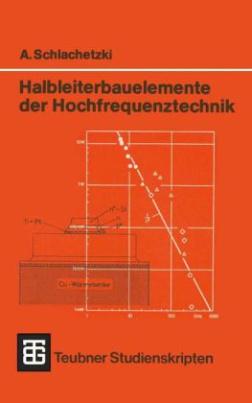 Halbleiterbauelemente der Hochfrequenztechnik