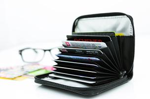 Kreditkarten-Portemonnaie