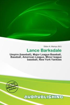 Lance Barksdale