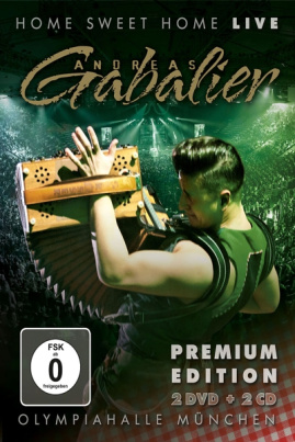 Andreas Gabalier - Home Sweet Home! Live aus der Olympiahalle München (2CD´s+2DVD´s)