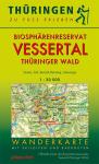 Wanderkarte: Biosphärenreservat Vessertal Thüringer Wald